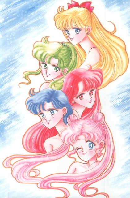 Naoko Takeuchi, Bishoujo Senshi Sailor Moon, BSSM Original Picture Collection Vol. I, Ami Mizuno, Rei Hino