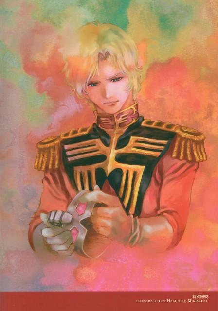 Haruhiko Mikimoto, Sunrise (Studio), Mobile Suit Gundam - Universal Century, Char Aznable