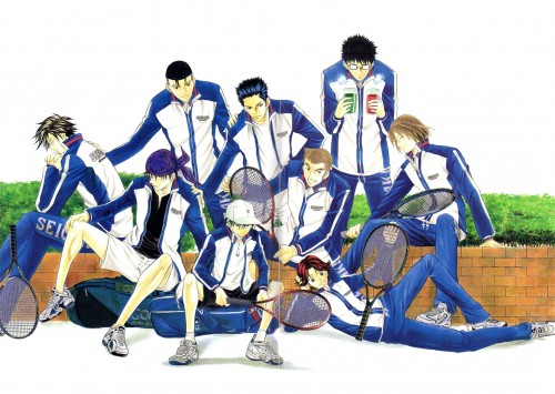 Takeshi Konomi, J.C. Staff, Prince of Tennis, Eiji Kikumaru, Sadaharu Inui