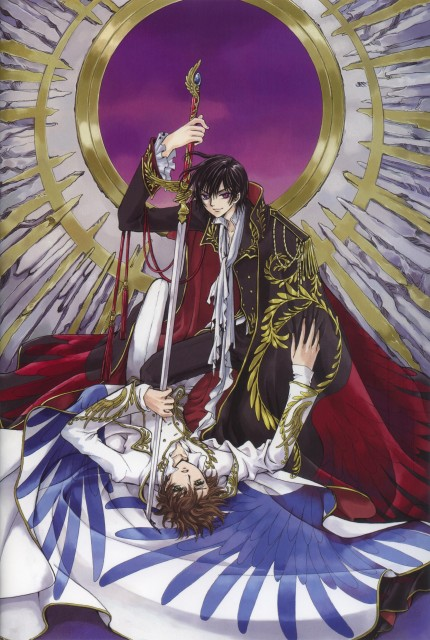 CLAMP, Sunrise (Studio), Lelouch of the Rebellion, Mutuality: Clamp Works in Code Geass, Suzaku Kururugi