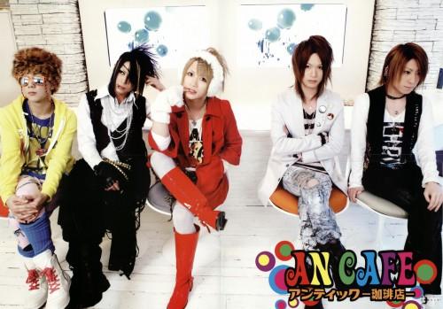Teruki, Kanon (J-Pop Idol), Takuya (J-Pop Idol), Akiharu Tsukiyama, Yuuki (J-Pop Idol)