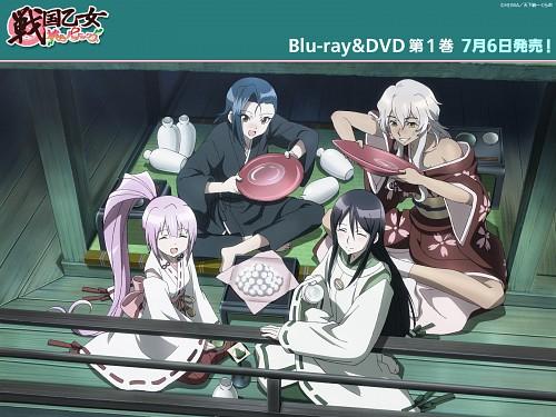 TMS Entertainment, Sengoku Otome: Momoiro Paradox, Kenshin Uesugi (Sengoku Otome), Ieyasu Tokugawa (Sengoku Otome), Shingen Takeda (Sengoku Otome)