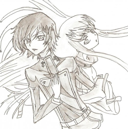 Lelouch of the Rebellion, C.C., Lelouch Lamperouge, Member Art