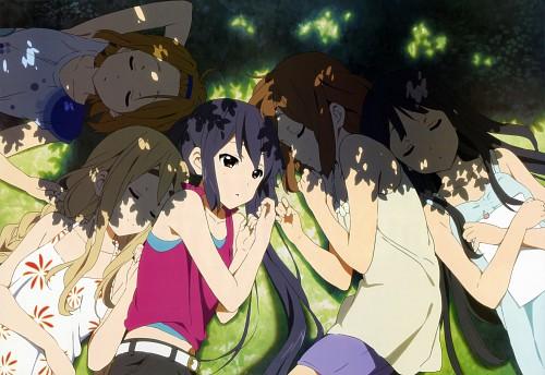 Kyoto Animation, K-On!, Mio Akiyama, Azusa Nakano, Yui Hirasawa