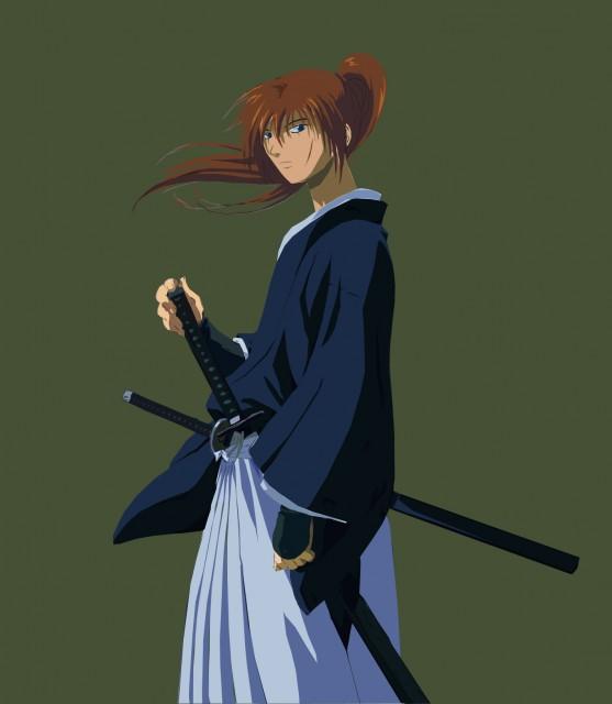 Nobuhiro Watsuki, Studio Deen, Rurouni Kenshin, Kenshin Himura, Vector Art