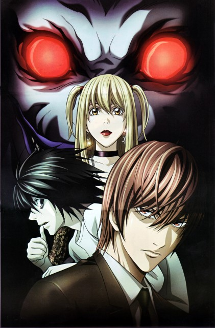 Madhouse, Death Note, Misa Amane, L, Light Yagami