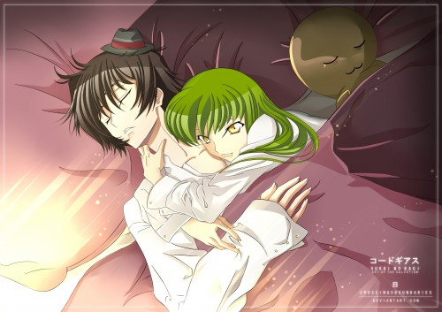 Lelouch of the Rebellion, Lelouch Lamperouge, C.C., Member Art