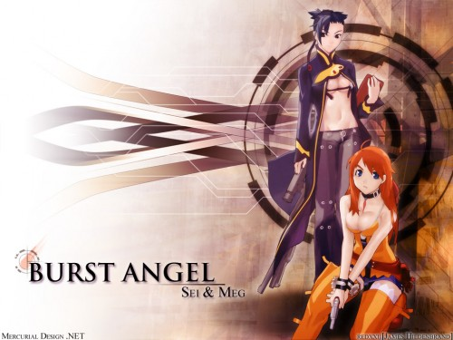 Burst Angel Wallpaper