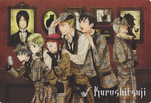 Yana Toboso, Kuroshitsuji, Ciel Phantomhive, Finnian, Tanaka