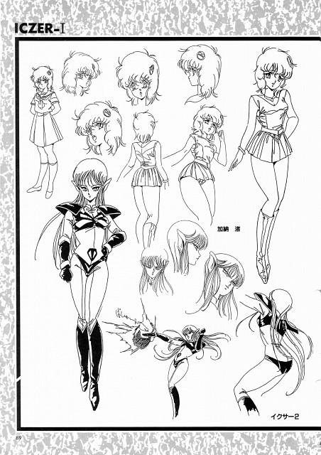 Iczer One (Series), Nagisa Kanou, Iczer-2, Character Sheet
