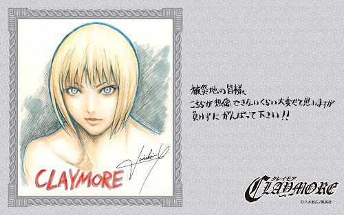 Norihiro Yagi, Madhouse, Claymore, Clare, Official Wallpaper