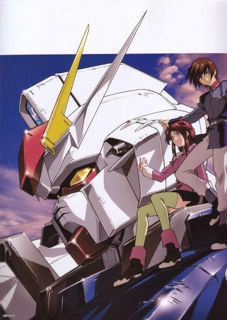 Sunrise (Studio), Mobile Suit Gundam SEED, Fllay Allster, Kira Yamato