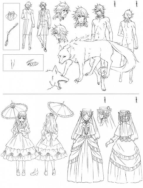 Yana Toboso, A-1 Pictures, Kuroshitsuji, Queen Victoria, Pluto
