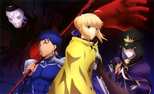 TYPE-MOON, Fate/stay night, Saber, Rider (Fate/stay night), True Assassin