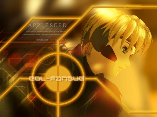 Masamune Shirow, Appleseed, Deunan Knute Wallpaper