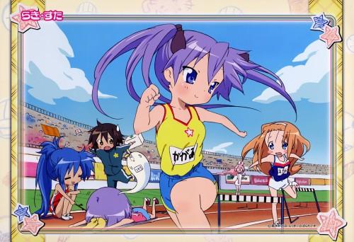 Lucky Star, Ayano Minegishi, Konata Izumi, Tsukasa Hiiragi, Kagami Hiiragi