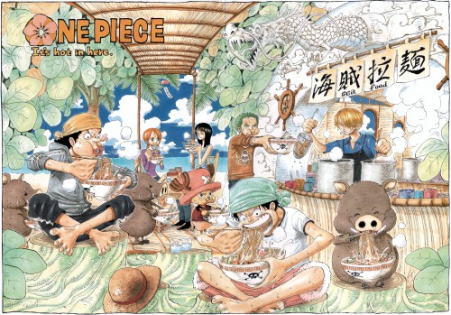 Eiichiro Oda, Toei Animation, One Piece, Color Walk 4 - Eagle, Sanji