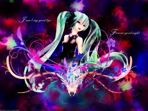 redjuice, Vocaloid, Miku Hatsune Wallpaper