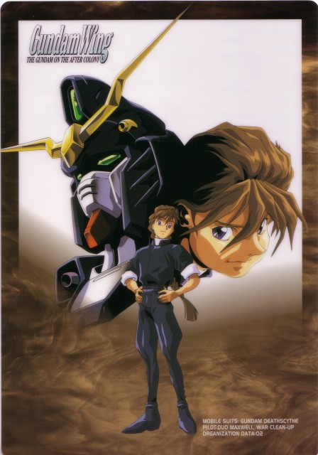 Sunrise (Studio), Mobile Suit Gundam Wing, Duo Maxwell