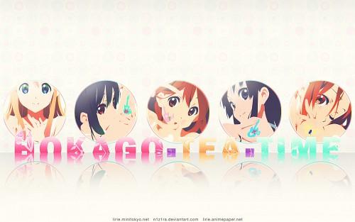 Kakifly, Kyoto Animation, K-On!, Azusa Nakano, Ritsu Tainaka Wallpaper