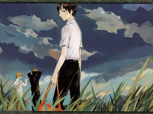 Gainax, Khara, Neon Genesis Evangelion, Comiday Evangelion Artbook, Shinji Ikari
