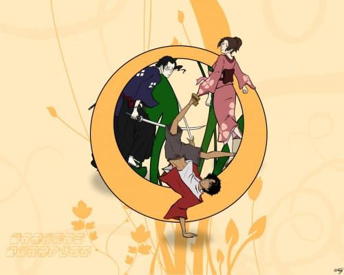 Samurai Champloo, Fuu, Mugen, Jin Wallpaper