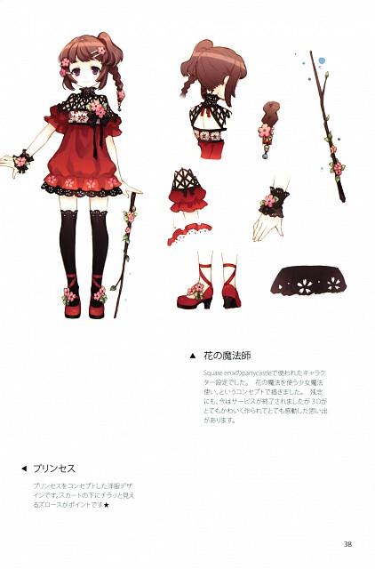Tearfish, Fuyu no Mori, Comic Market 79, Character Sheet