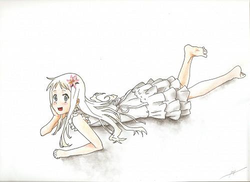 Masayoshi Tanaka, A-1 Pictures, AnoHana, Meiko Honma, Member Art