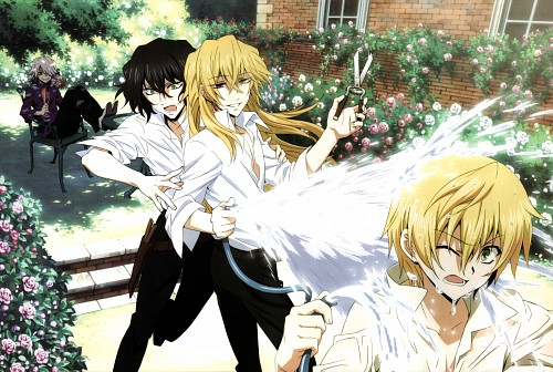 Xebec, Pandora Hearts, Xerxes Break, Gilbert Nightray, Oz Vessalius