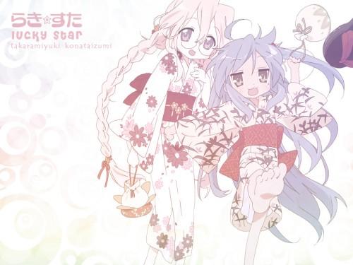 Lucky Star, Miyuki Takara, Konata Izumi Wallpaper