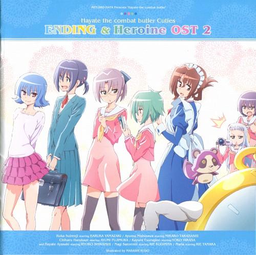 Kenjiro Hata, Hayate the Combat Butler, Risa Asakaze, Maria (Hayate the Combat Butler), Chiharu Harukaze