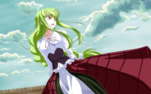 Mahiru Izumi, Lelouch of the Rebellion, C.C., Doujinshi Wallpaper