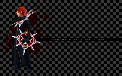 Square Enix, Kingdom Hearts, Axel Wallpaper
