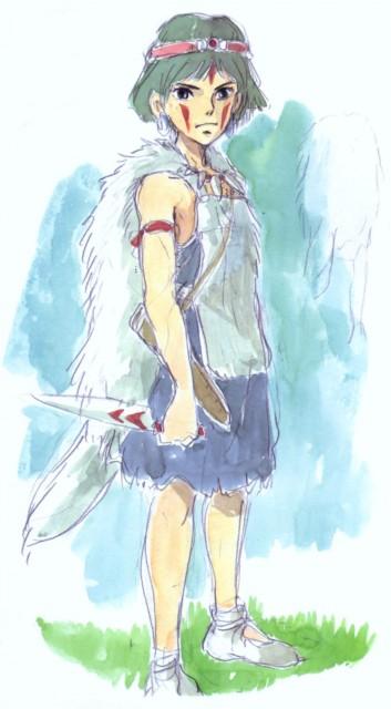 Hayao Miyazaki, Studio Ghibli, Princess Mononoke, San