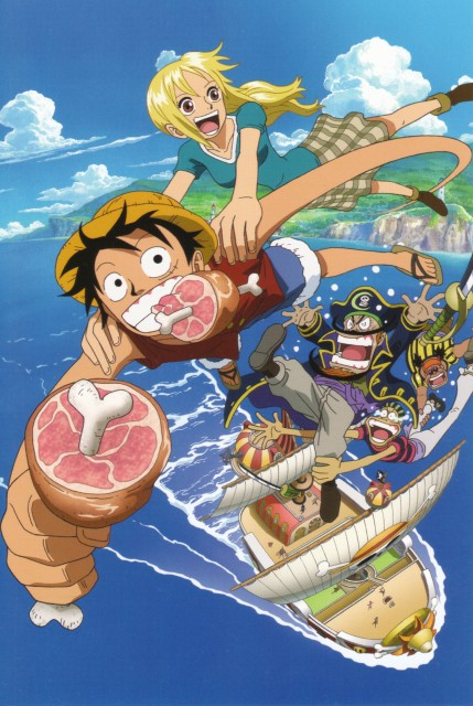 Eiichiro Oda, One Piece, Galley, Silk (One Piece), Monkey D. Luffy