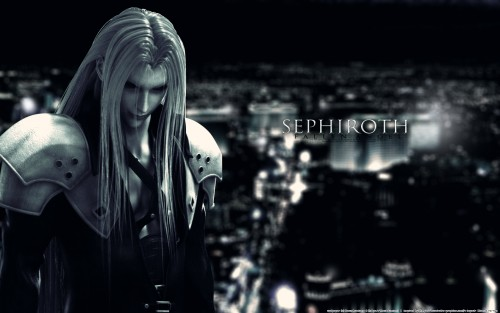 Square Enix, Final Fantasy VII: Advent Children, Final Fantasy VII, Sephiroth Wallpaper