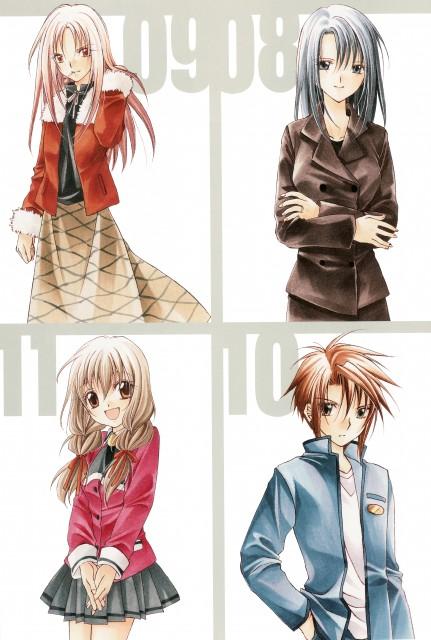 Spiral: The Bonds of Reasoning, Ayumu Narumi, Madoka Narumi, Hiyono Yuizaki