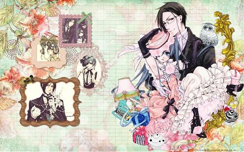 Kuroshitsuji, Sebastian Michaelis, Ciel Phantomhive Wallpaper