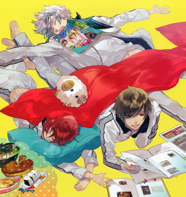 Kazuaki, Starry Sky Official Guide Complete Edition ~Spring Stories~, Starry Sky, Suzuya Tohzuki, Yoh Tomoe