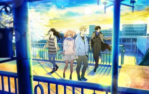 Kyoto Animation, Kyoukai no Kanata, Akihito Kanbara, Hiroomi Nase, Mitsuki Nase