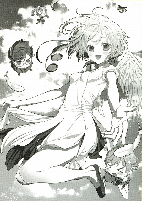 Mai Hanamura, Tenshi ha Itsumo Isogashii, Translucent - Hanamura Mai Artbook