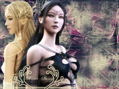 Eun Hee Choi, Shaiya - Light and Darkness, Raina, Etaine Wallpaper