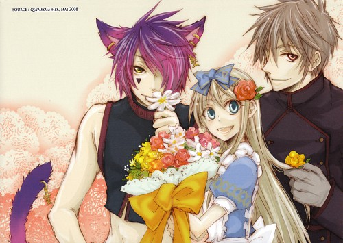 Soumei Hoshino, QuinRose, Heart no Kuni no Alice, Ace (Heart no Kuni no Alice), Boris Airay