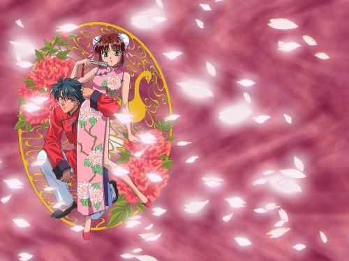 Yuu Watase, Studio Pierrot, Fushigi Yuugi, Tamahome, Miaka Yuuki Wallpaper