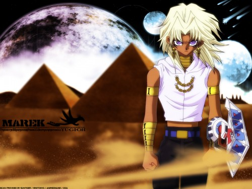 Yu-Gi-Oh! Duel Monsters, Marik Ishtar Wallpaper