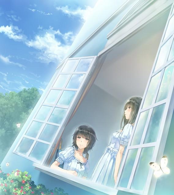 Miki Sugina, Innocent Grey, FLOWERS (Visual Novel), Erika Yaegaki, Chidori Takasaki