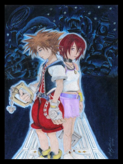 Square Enix, Kingdom Hearts, Kairi, Sora, Member Art