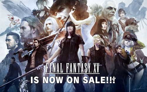 Yuuki Matsuzawa, Final Fantasy XV, Cid Sophiar, Regis Lucis Caelum, Ravus Nox Fleuret