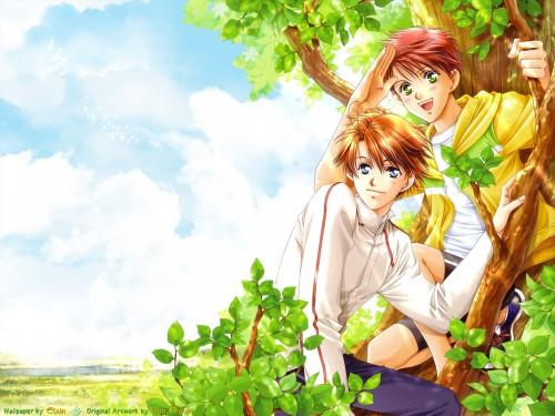 You Higuri, Gakuen Heaven, Shunsuke Taki, Keita Ito Wallpaper