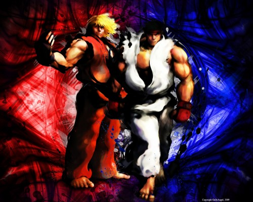 Street Fighter, Ryu, Ken Masters Wallpaper